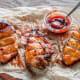 Chicken with Peach BBQ Sauce