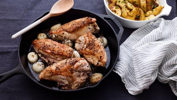 Honey Chicken with Ciopillioni Onion