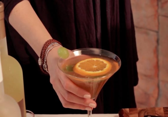 summer cocktail with morad