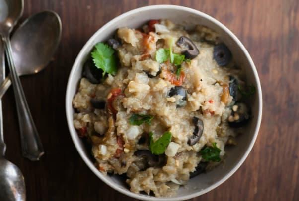 Grilled Eggplant Salad85