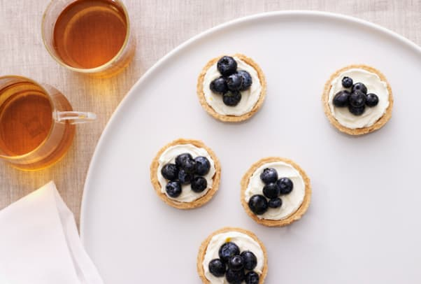 blueberry lemon tarts