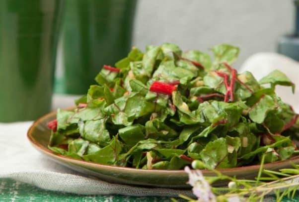 maple chard salad