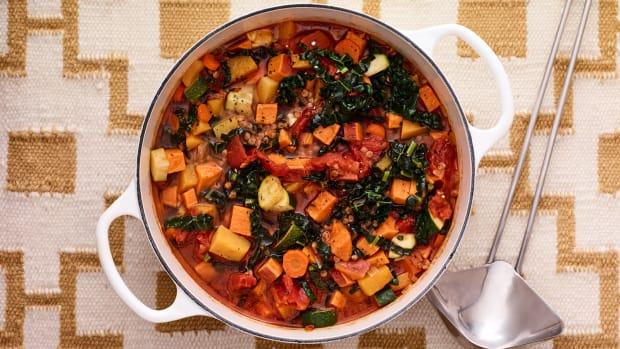 vegetable couscous soup