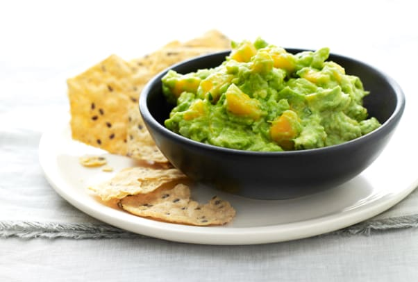 papaya-guacamole