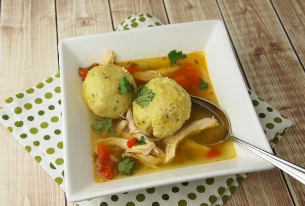 saffron-matzo-ball-soup-with-sofrito