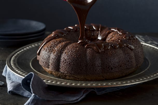 Pumpkin Chocolate Bundt Cake