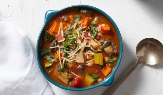 Italian veg soup WW