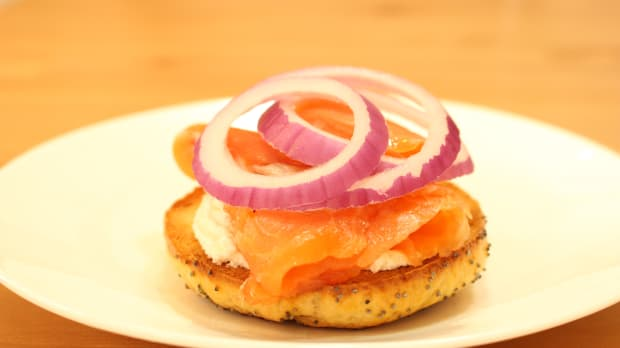 Homemade lox to upgrade your sunday