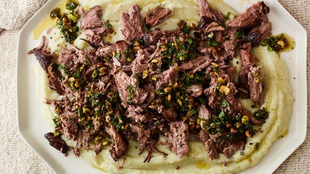 Slow Cooked Sous Vide Lamb Jamie Geller