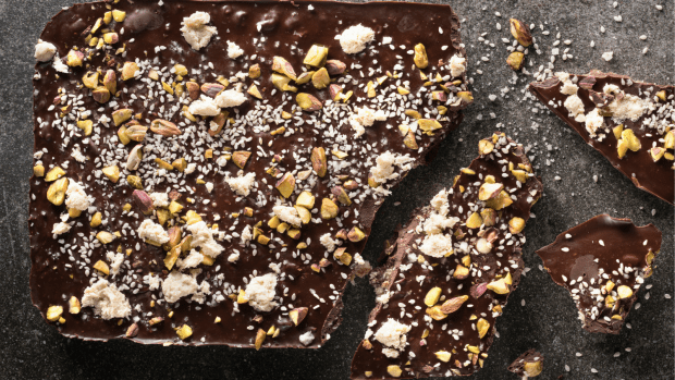 Halva Chocolate Bark