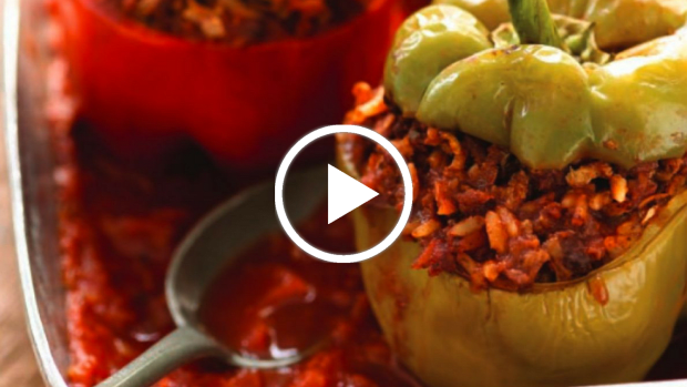 traditional stuffed peppers