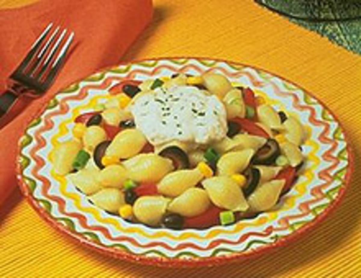 Layered Southwestern Pasta Salad