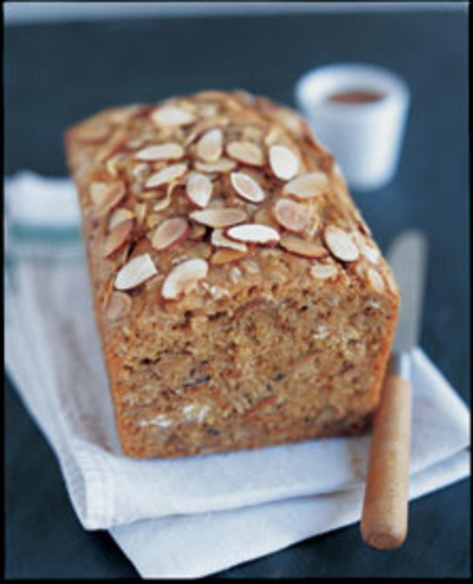 Oat Bran & Almond Bread
