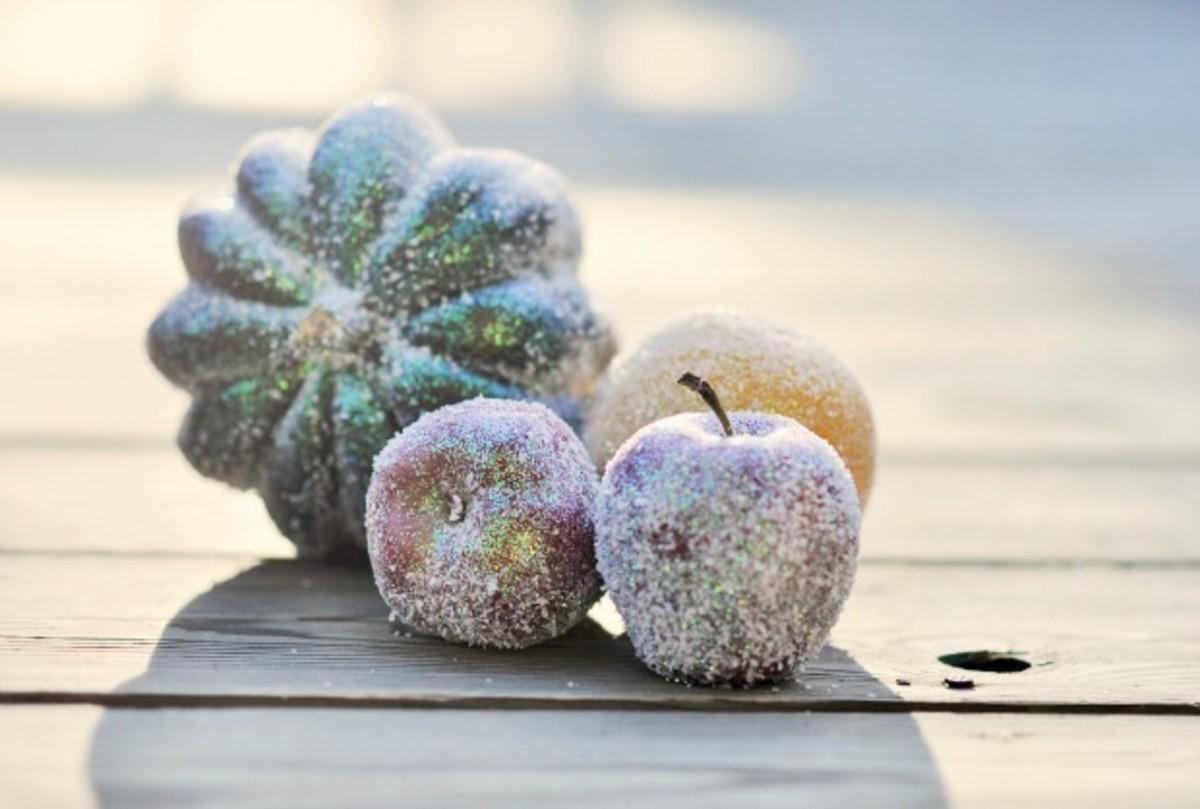 sugar coated fruit