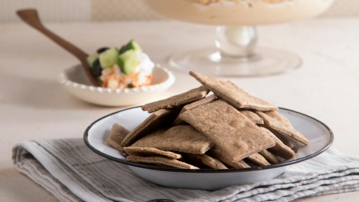 zaatar crackers