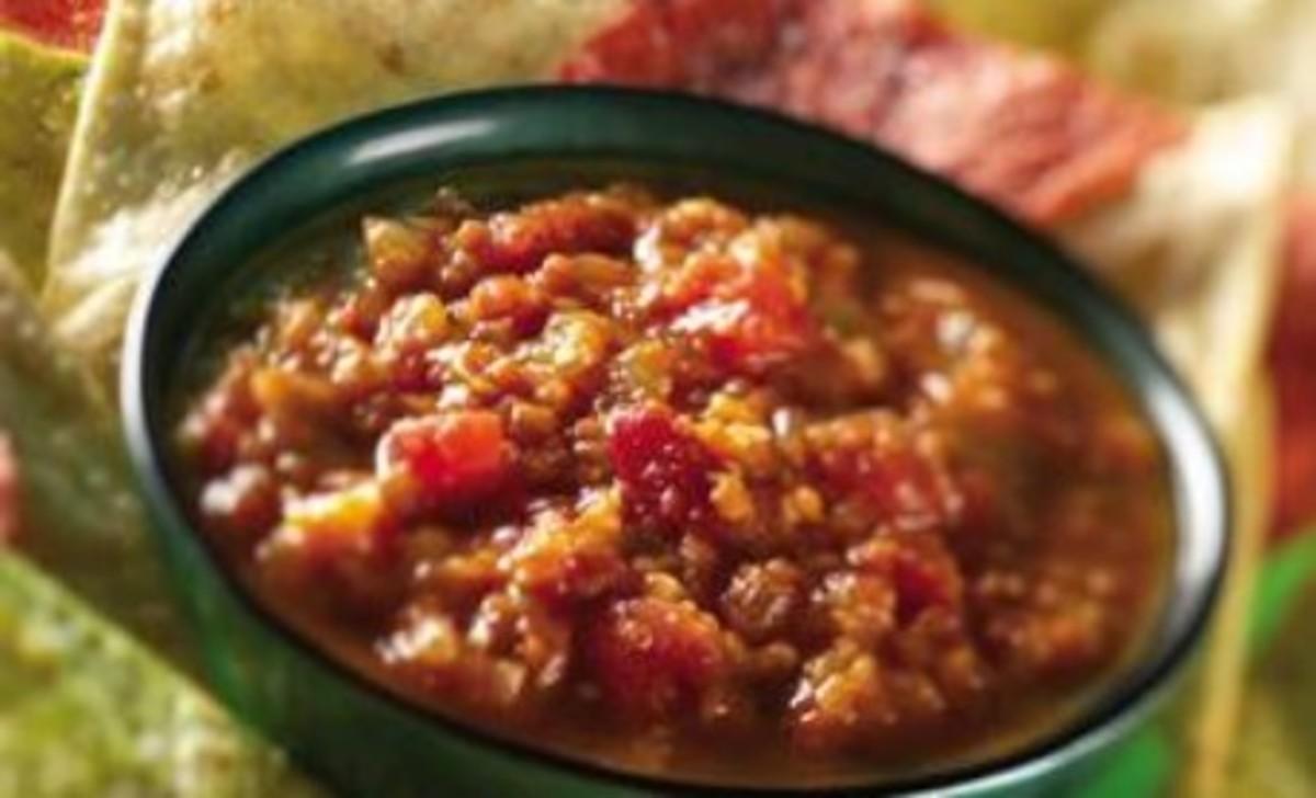 Vidalia Onion, Tomatillo and Watermelon Salsa