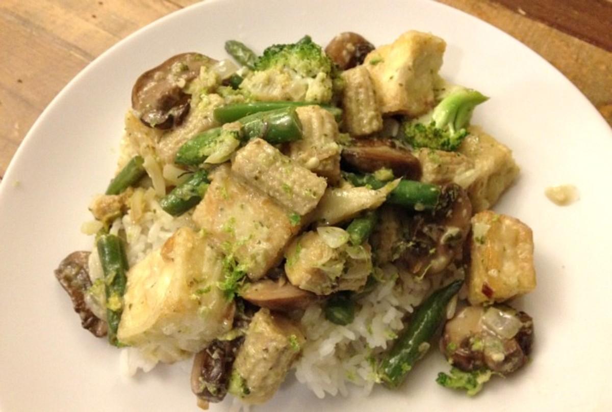 Vegetable and Tofu Thai Curry