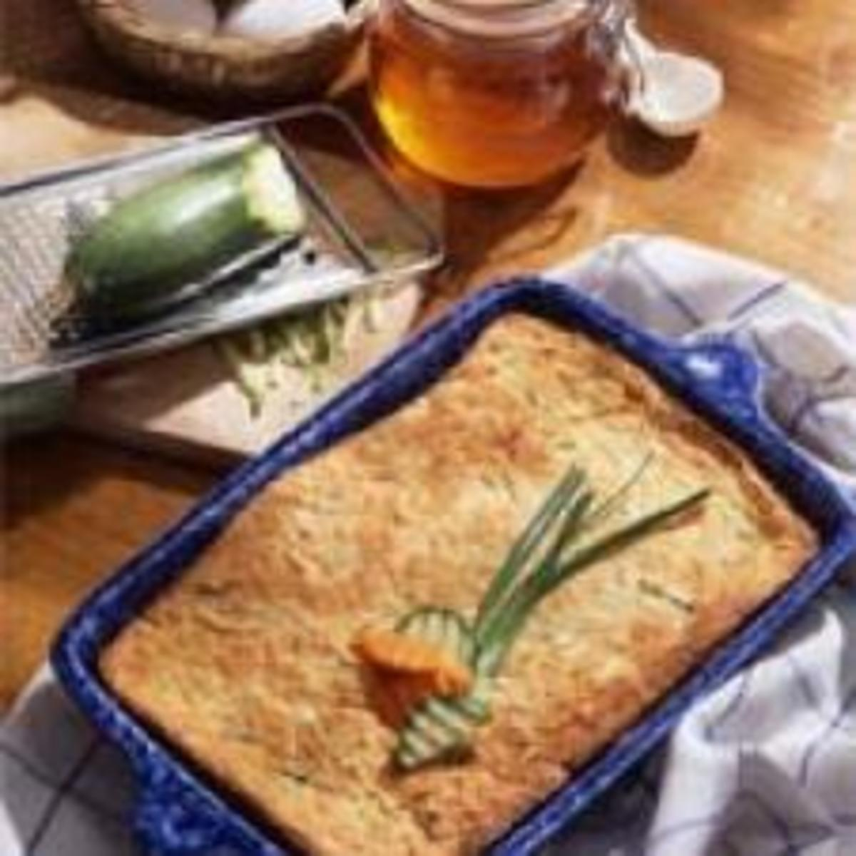 honey kissed carrot zucchini kugel