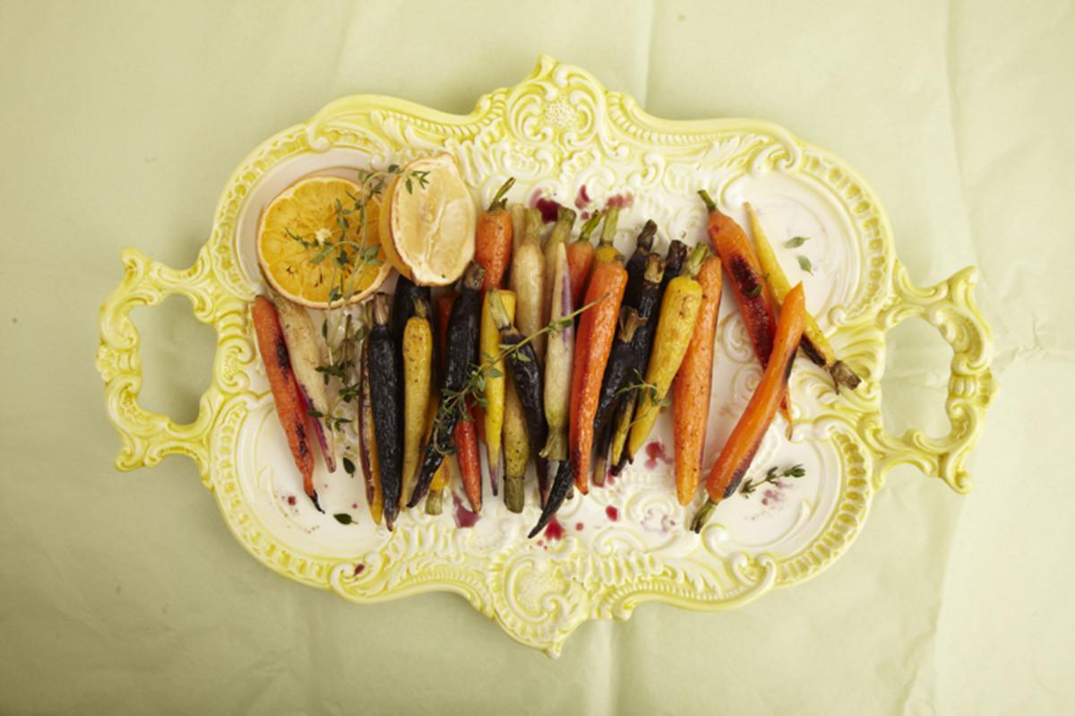 Glazed Roasted Carrots
