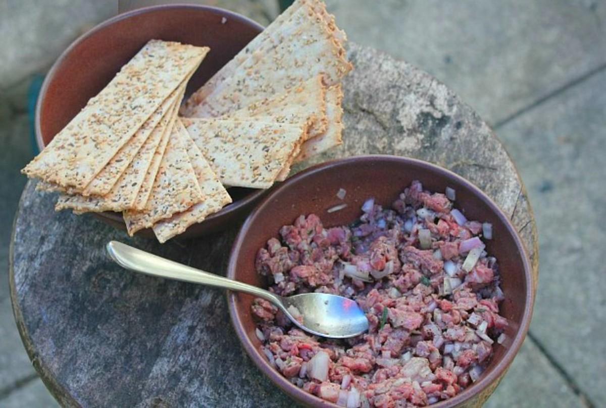 grow and behold beef tartar