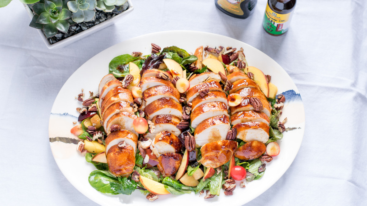 Jamie Geller - Stone Fruit Chicken Salad