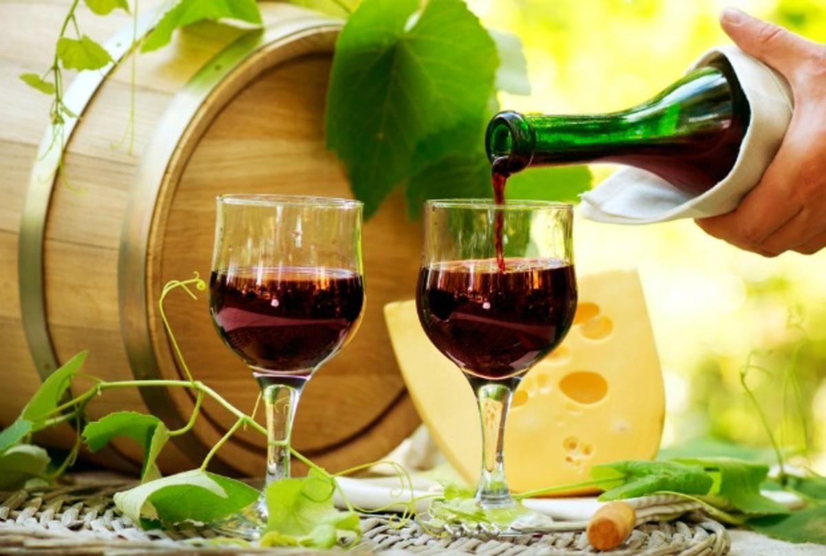 wine on shavuot