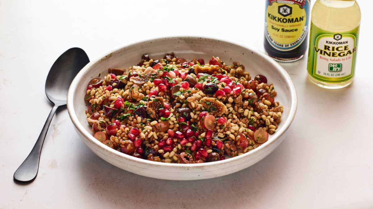 Asian Barley Salad