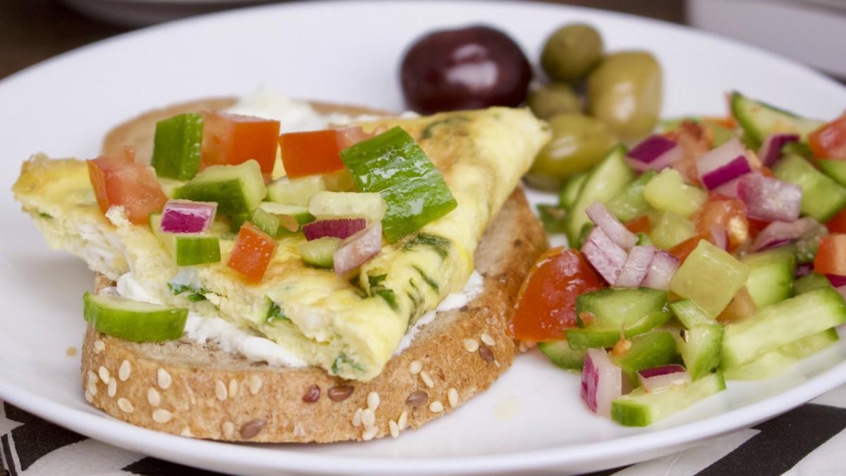 israeli breakfast omelet