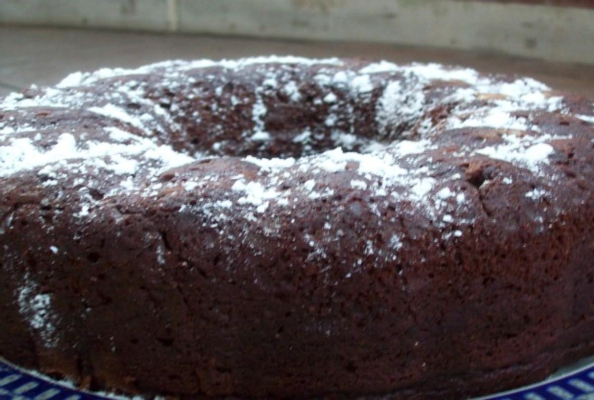 Chocolate Pumpkin Whole Wheat Bundt Cake