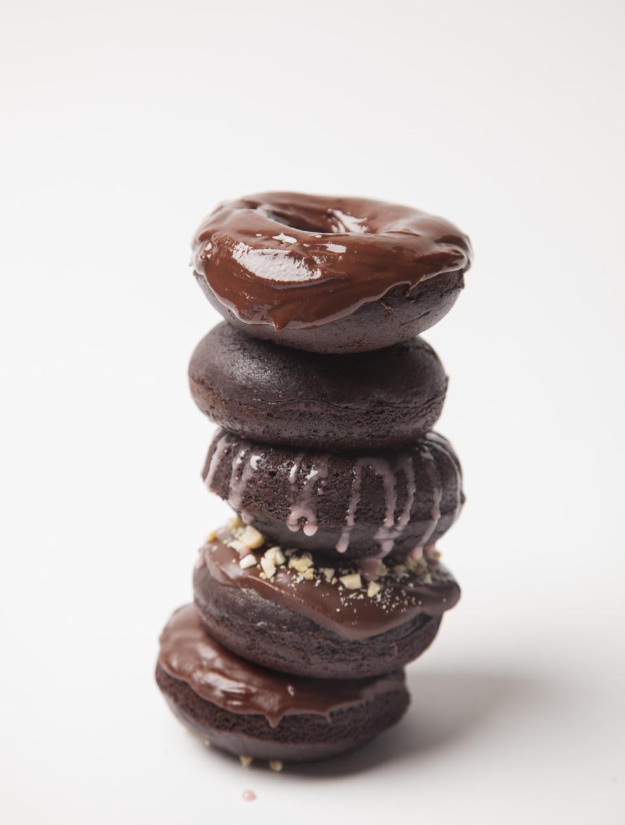 Chocolate Cake Doughnuts Pg.75