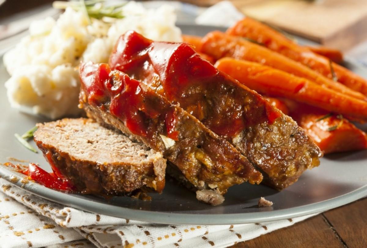 Barbecued Meatloaf