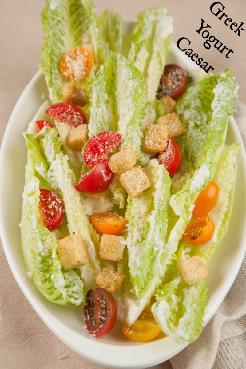 greek yogurt caesar