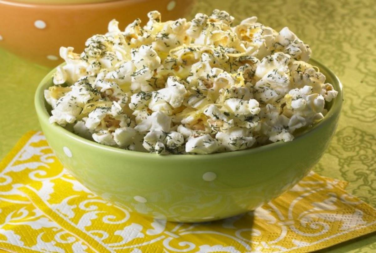 Dilly Lemon Munch Popcorn