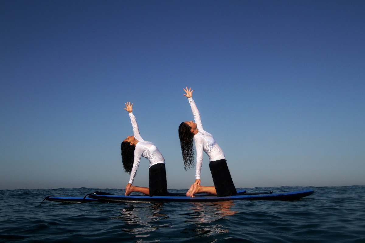 Ritz Carlton Herzliya Yoga Sap