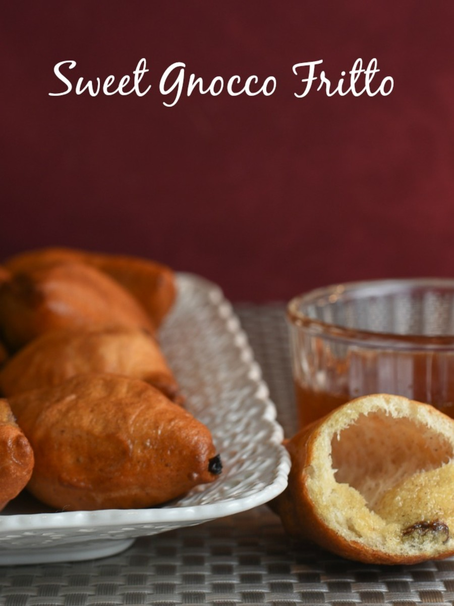sweet gnocco fritto