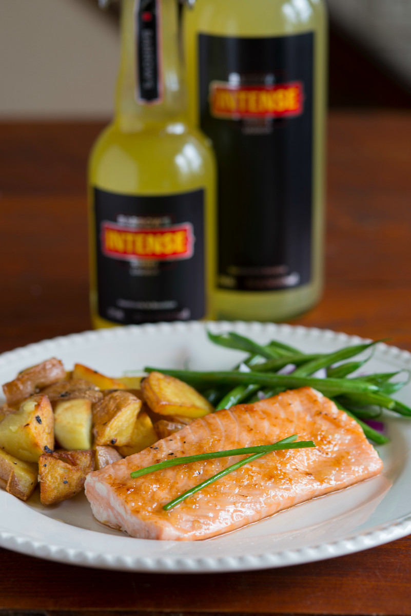 ginger Glazed Salmon with Barrow's