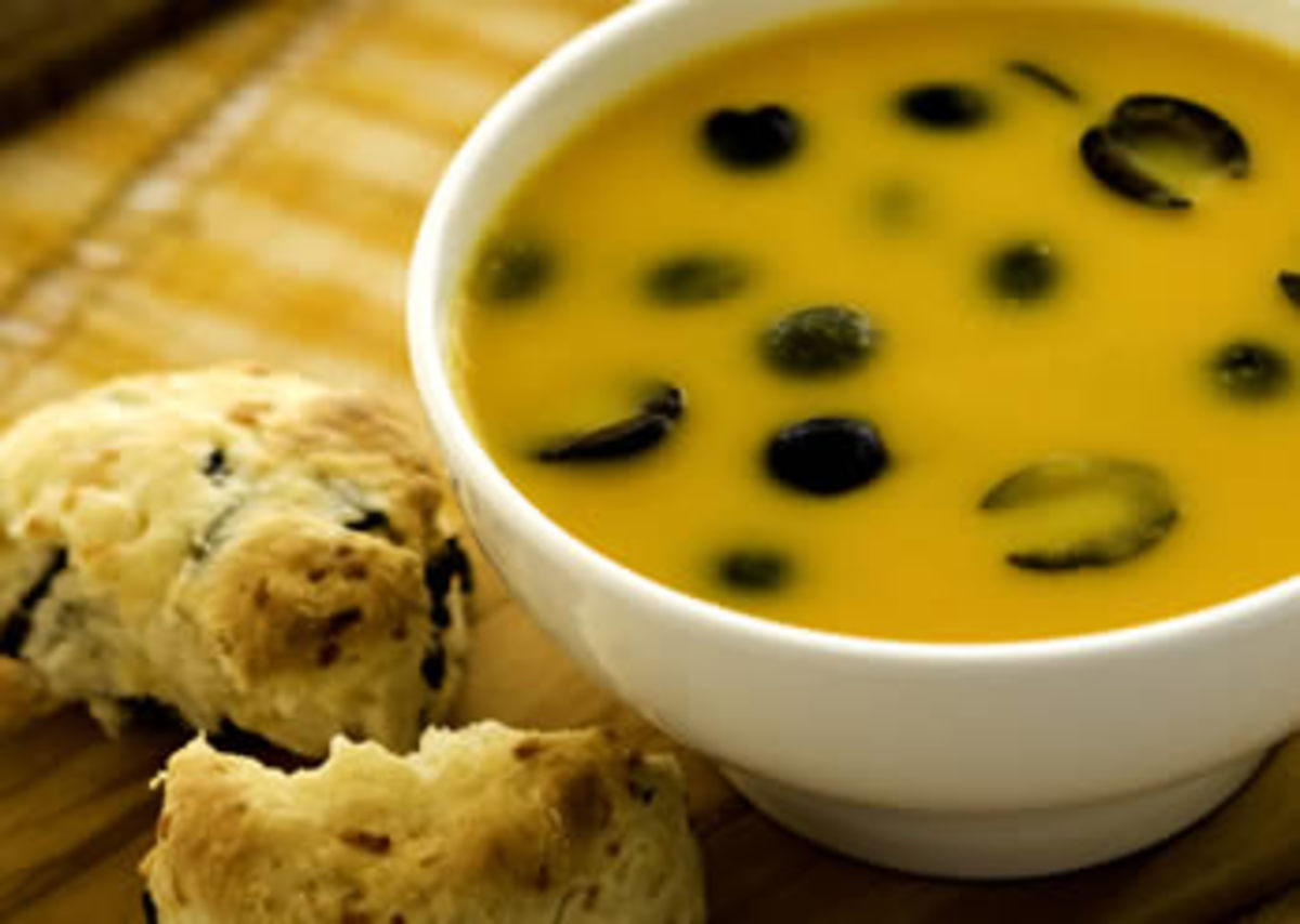 Carrot Olive Soup