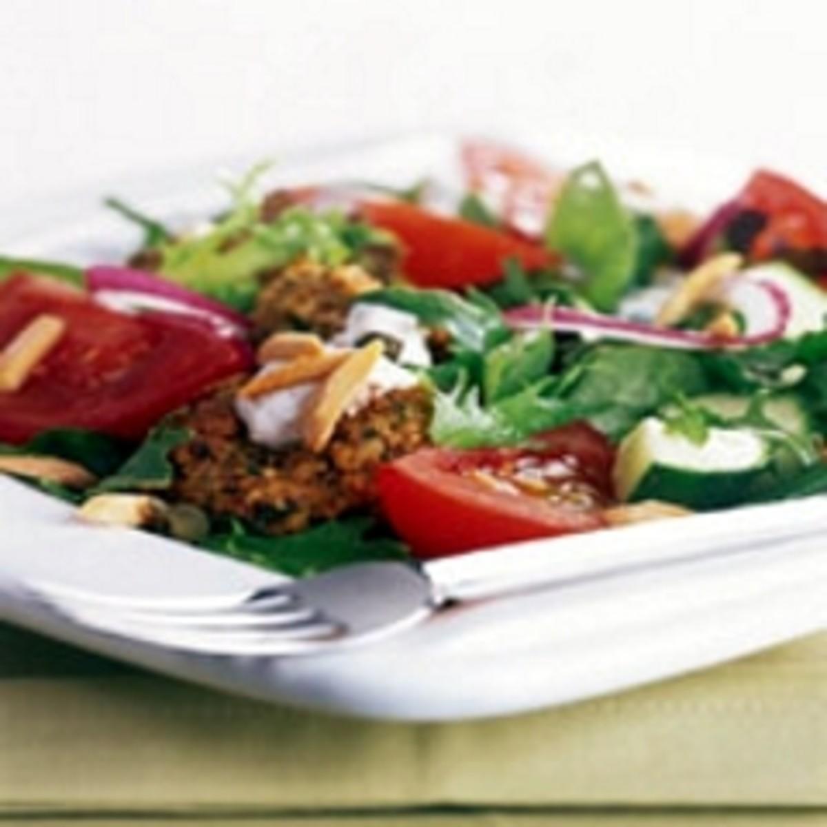 Almond Super Felafel Salad
