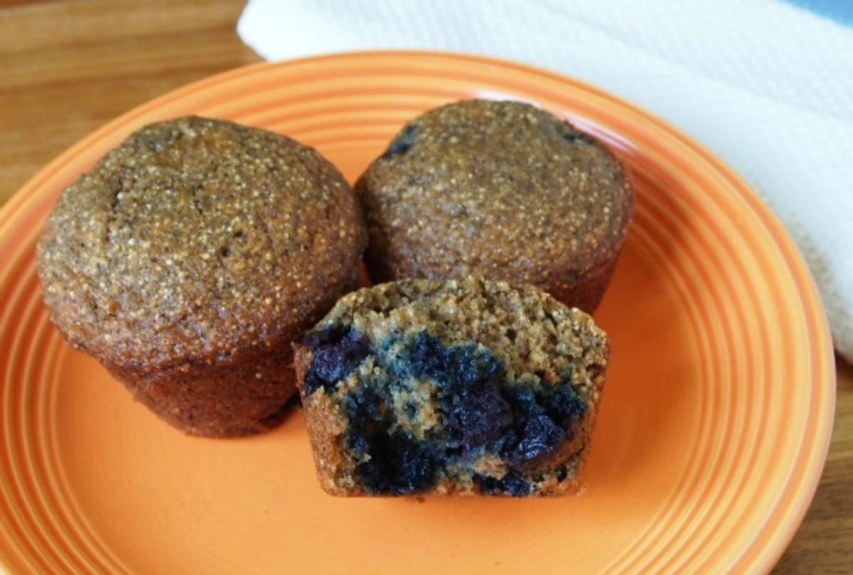 Buckwheat-Chia-Blueberry-Muffins