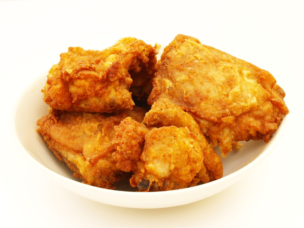 crispy kosher fried chicken
