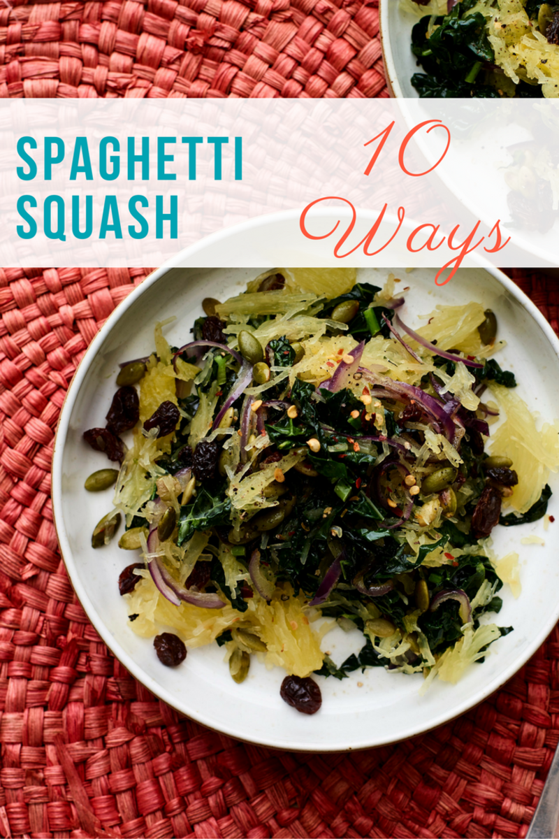 10 Spaghetti Squash recipes for your dinners