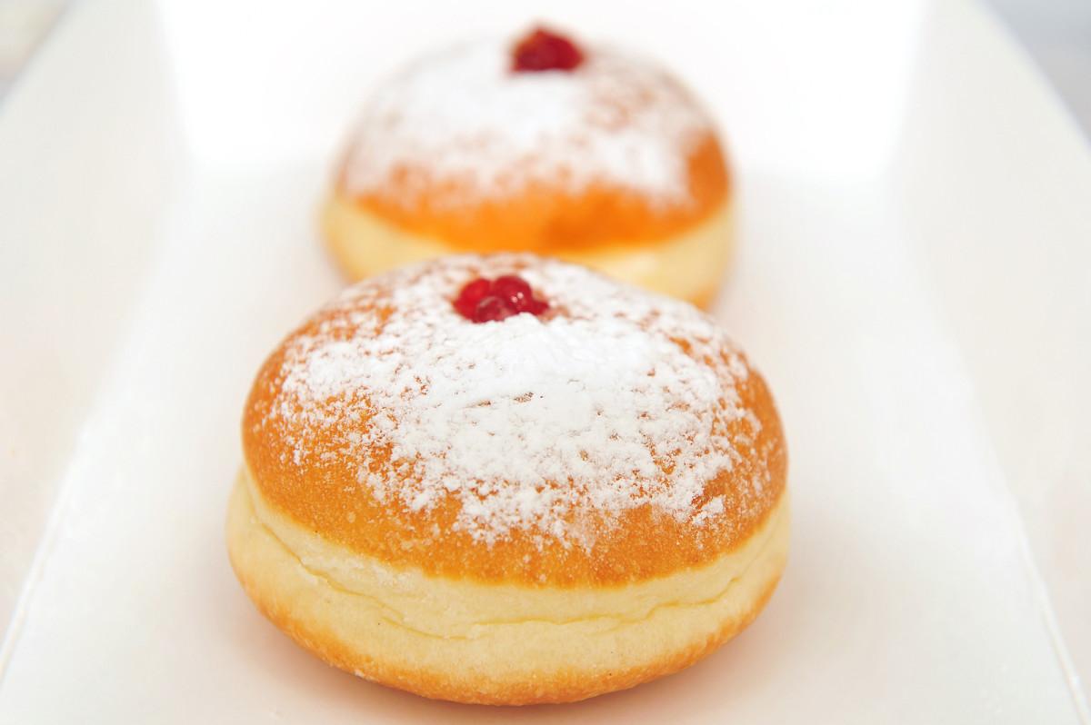 Classic Sufganiyot Recipe from Biscotti Bakery