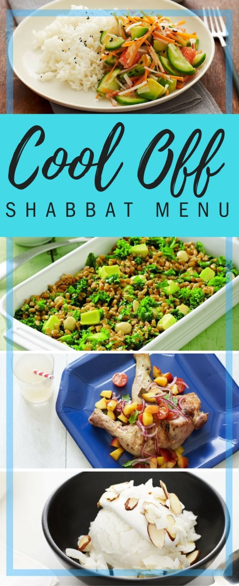 cool off shabbat menu