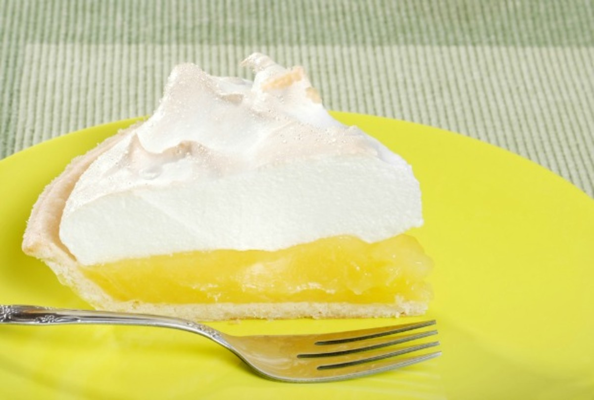 non dairy lemon meringue pie