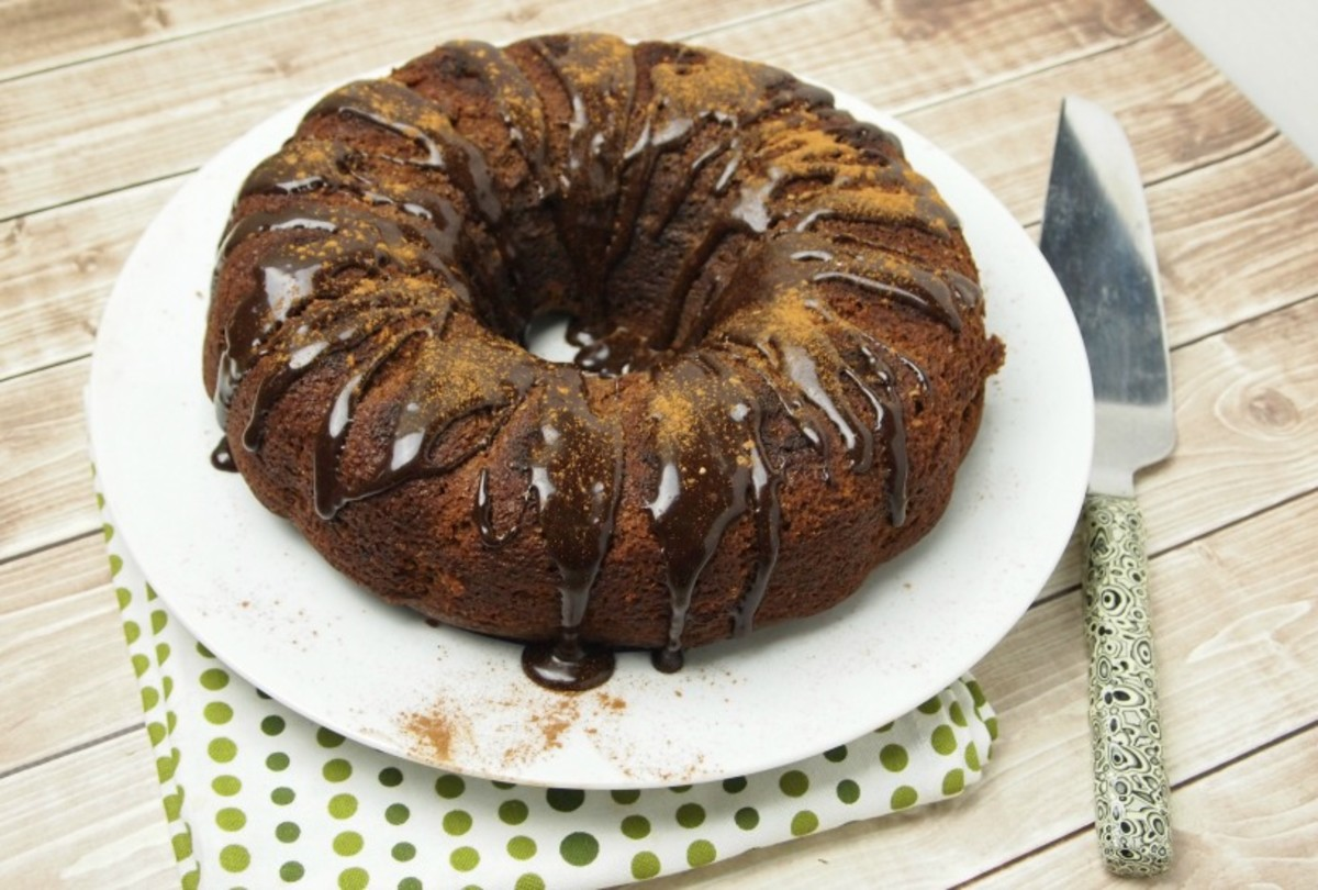 Chocolate Turkish Coffee Cake
