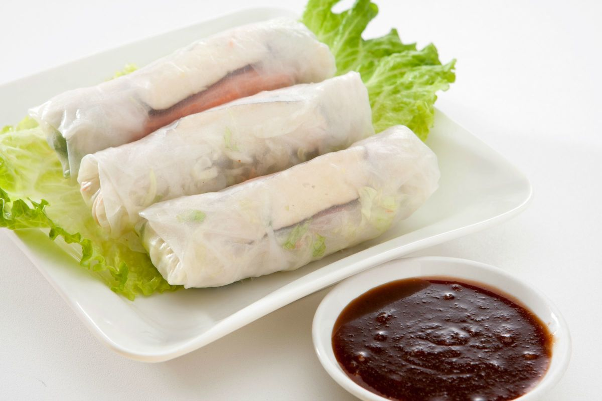 Simanim Summer Rolls