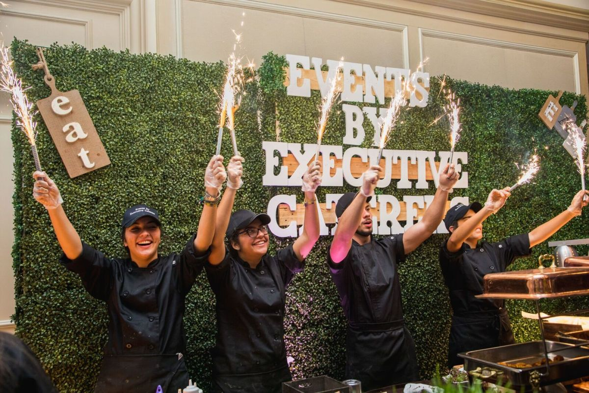 Events by Executive Caterers brought a Latin American flair to the event.