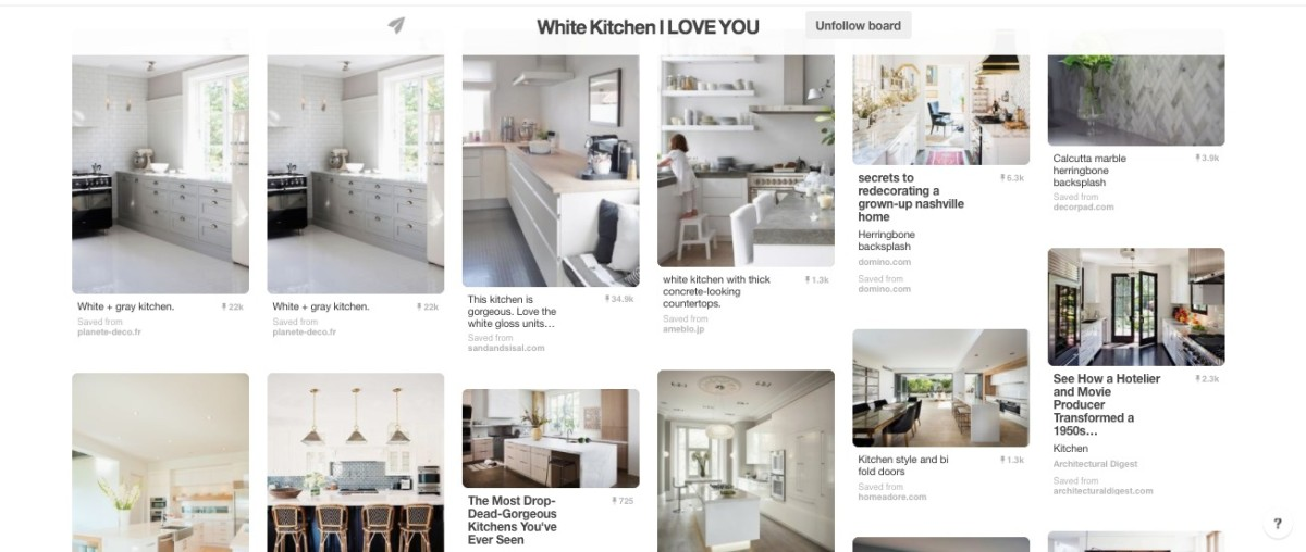Jamie's white kitchen