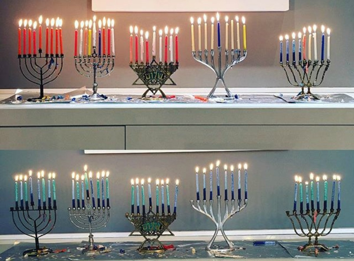 Jamie Geller's Chanukah Candles