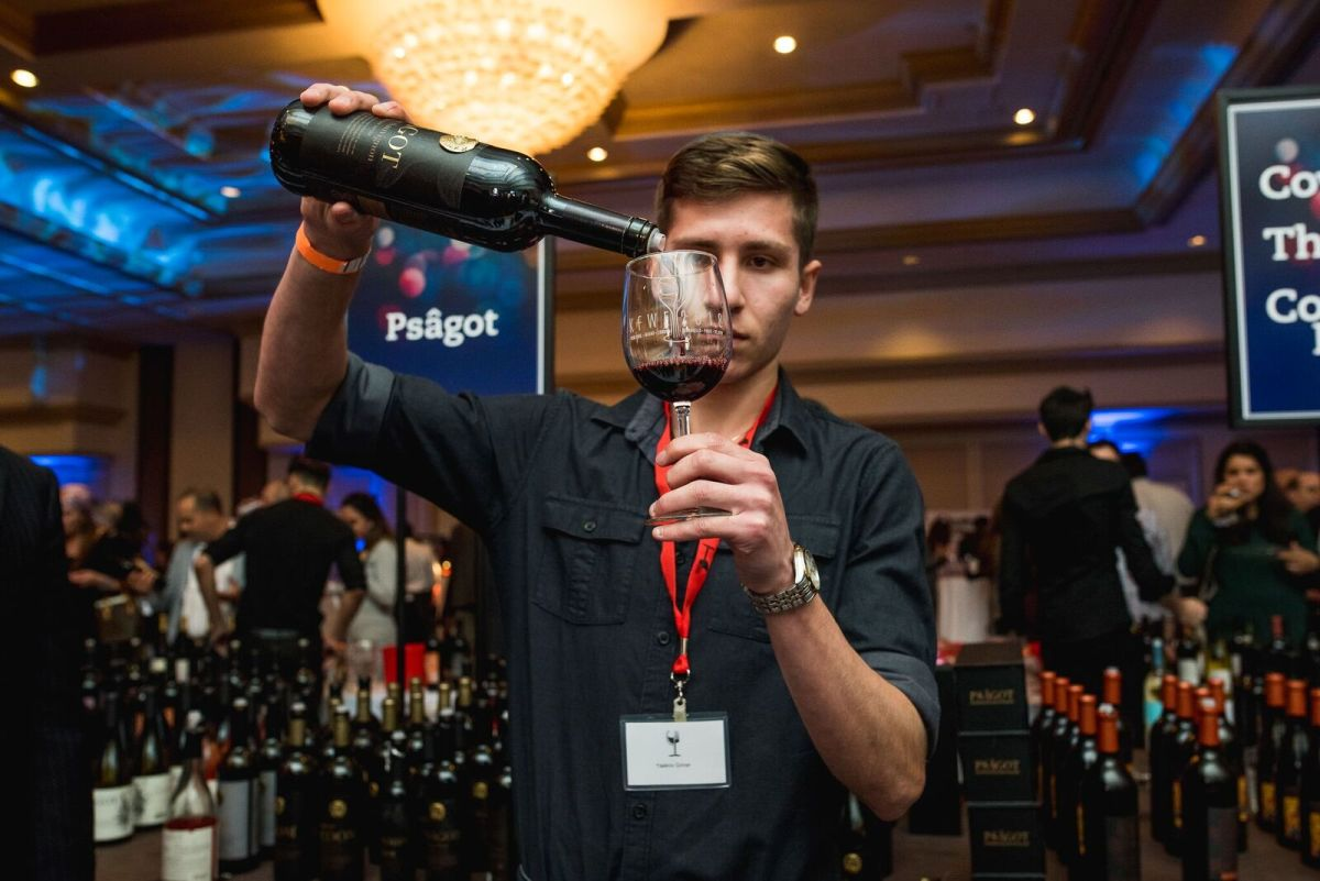 Psagot Winery attended all the way from the hills of Jerusalem. Photo Credit: SVE Productions